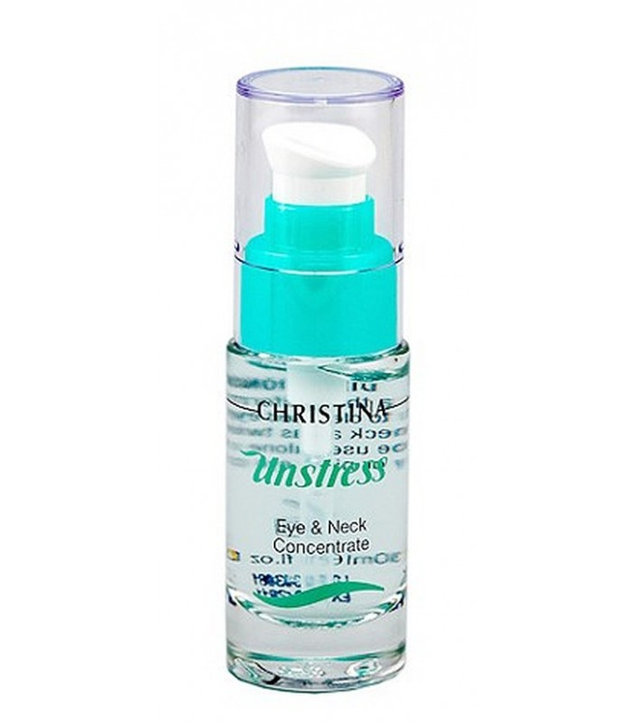 Eye and Neck Concentrate - Serie Unstress - Christina - 30 ml